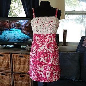 Lilly Pulitzer Pink Coronado Lobster dress